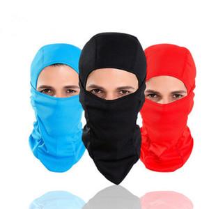 Rüzgar geçirmez Yüz Maskesi Bisiklet Yüz Maskesi Snowboard kap Kayak Kış Spor Bisiklet Bisiklet şeker renk unisex