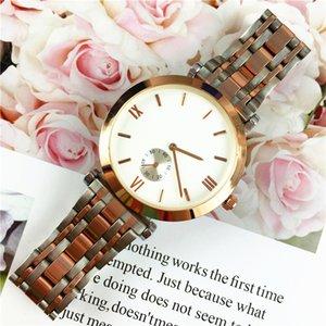 Hot Item Edelstahl Mann / Frauen Militäruhr Luxus-Liebhaber-Uhr-Armbanduhr-Qualitäts-Marke Gentleman Lovers Tropfen Verschiffen der Uhr