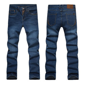 Mens Brand Jeans Fashion Men Casual Slim Fit Straight High Stretch Feet Skinny Jeans Men Black Hot Sell Male Wholesale Pantalones