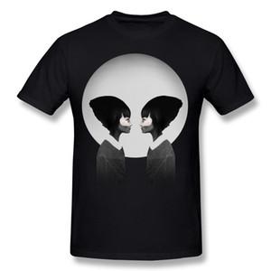 Cheap Men 100% Cotton Fabric A Reflection Tee Shirt Men Crew Neck Black Shorts T-Shirt S-6XL Gift Tee Shirt