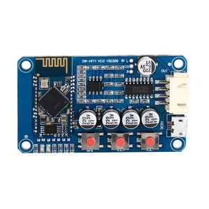 Freeshipping Bluetooth 4.0 ресивер Стереофонический усилитель аудиосистемы Mini USB Digital Amplifier Малый динамик DC 5V Mini Amplifier