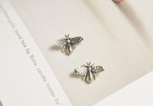 2018 New Years Ziris Fine S925 orecchini in argento sterling Vintage carino animale orecchino ape per le donne regalo gioielli compatibile