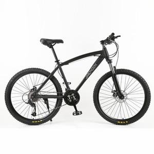 Hohe Qualität 26 Zoll Mountainbike, 26 * 18 Große Rahmen MTB Fahrrad, 21/27 Geschwindigkeit Doppelscheibenbremse, Abschließbare Federgabel