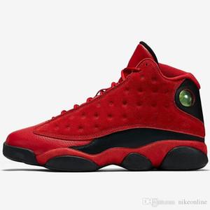 저렴한 Mens Jumpman 13 XIII basketabll shoes 13s 홀로그램 레이 앨런 모든 레드 히트 Love Melo AJ13 스포츠 스니커즈 J13 오리지널 박스 포함