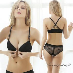 Reggiseni push up sexy per intimo donna Open e slip Lingerie set di reggiseno bralette bianco VS Bra Balaloum C18111601