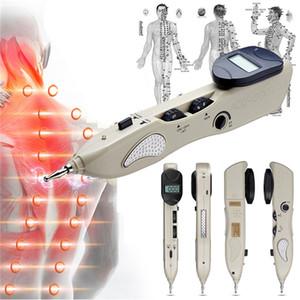 Cuidado de la salud eléctrico meridiano punto de acupuntura pluma automático detector meridan diagnóstico acupuntura dispositivo de masaje para uso en el hogar