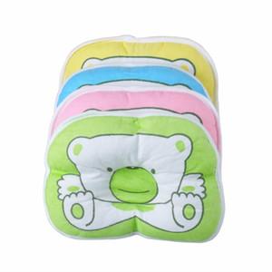 Infant Literie Imprimer Oval Forme Oval 100% Coton Oreiller De Forme De Bébé De Haute Qualité