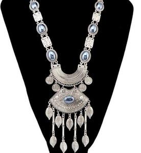 Boutique mode vintage bijoux chandail chaîne long gland laisse pendentif collier cadeau