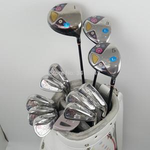 Yeni womens Golf kulüpleri Maruman FL Golf kulüpleri komple set sürücü + fairway ahşap + ütüler + atıcı Grafit Golf mili ücretsiz kargo