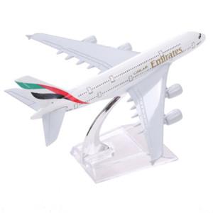 Airbus380 Emirates Airlines A-380 Самолет Аэроплан 16см Diecast Модель Объединенные Арабские Эмираты A380 High Simulation