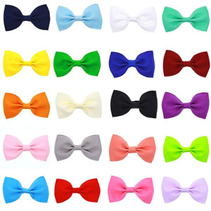 50pcs Hair Bows Band Boutique Alligator Clip Grosgrain Ribbon per Girl Baby Bambini