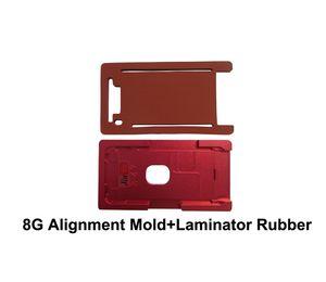 1pcs для алюминия точности прессформы ламинатора iPhone 8G алюминиевого только для крышки Gass с положением рамки для потребителя OCA