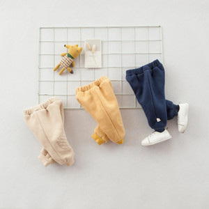 Одежда детей детские города 2018, чтобы сохранить теплые зимние брюки ребенок плюс тренировочные брюки новорожденных брюки ИНС