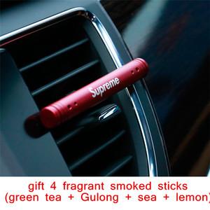 Perfume del ambientador del aire del coche Decoración del metal Purificador del difusor del aroma Clip sólido Abrazadera de la aromaterapia Auto Vent Fragancia Car-Styling