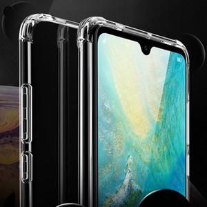 Для Huawei Mate 20 Pro Mate 20 X Case мягкие TPU прозрачный гель защиты кожи Shell резиновый кремния крышка телефона