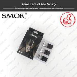 100% Original SMOK Infinix Pod Cartucho 2ml substituição Pod cartuchos vazios Smok Infinix Kit Air-driven com o lado Reabastecimento Buraco Vape POD