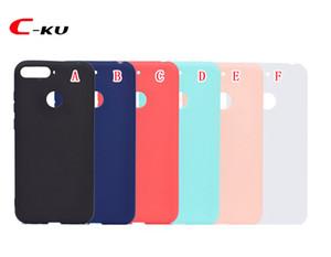 Matte Frosted weicher TPU Fall für Huawei Honor 10 LITE 7C 7A Y9 2018 Xiaomi Redmi ANMERKUNG 5 PRO 5A Süßigkeit Kautschukgel Abdeckungs-Haut-Telefon Luxus 20pcs