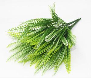 Pteris W109 di Pteris W109 degli accessori di plastica del fiore dell'erba di plastica della parete della pianta di impianto della parete