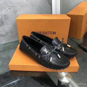 2019 Moda Mujer Mocasines de Cuero Genuino Mujer Zapatos de Tacón Bajo Señora Bordado Zapatos de Cabeza de Tigre Zapatos de Boda de Las Mujeres