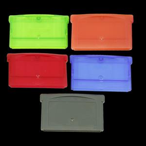Caja de cartucho de tarjeta de juego Cubierta de cubierta de la carcasa con tornillo para GBA GBM GBA SP NDS NDSL Caja de almacenamiento del cartucho DHL FEDEX EL EMS ENVÍO GRATIS