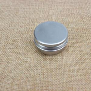 الجملة العلامة التجارية الجديدة 15G الألومنيوم مستحضرات التجميل جرة 15ML معدن القصدير للتغليف كريم