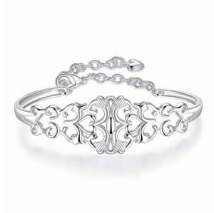 JEXXI eautiful женщина свадьба Engagment ювелирные изделия блестящий стерлингового серебра 925 браслеты браслеты для невест свадебные аксессуары