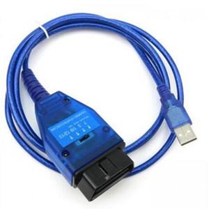 10 unids VAG KKL FIAT ECU SCAN VAG KKL USB + Fiat Ecu Scan Herramienta de interfaz de diagnóstico Vag 409+ fiat ecu scan