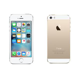 """Восстановленный iPhone 5S Touch ID 8MP Apple iOS 8 4.0"""" IPS HD оригинальный мобильный двухъядерный мобильный телефон iphone5s"""