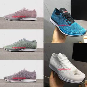 En Kaliteli Erkek Kadın Rahat Racer Blueberry Fıstık Lavanta Koşu Ayakkabıları Hafif Nefes Yürüyüş Spor Ayakkabı Sneake