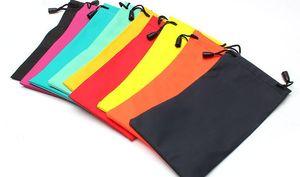 Bolsa de gafas engrosamiento multicolor PU impermeable Gafas de sol Casos