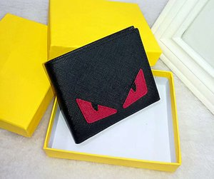 Men's Designer Card Wallets Pocket Bag PU Leather Fashion Cross-wallet European style Brand Purses with Box