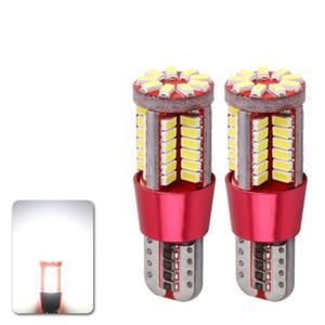 T10 W5W 194 Белый Canbus OBC безошибочный автомобильная лампа LED свет интерьер карта чтения двери номерного знака авто лампы 4014 SMD 57 чипы 12 В