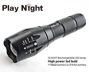 G700 LED Linternas 전술 3800 루멘 크리 어 XM-T6 Zoomable 5 모드 LED 손전등 토치 램프 라이트 트래픽 경찰 장비