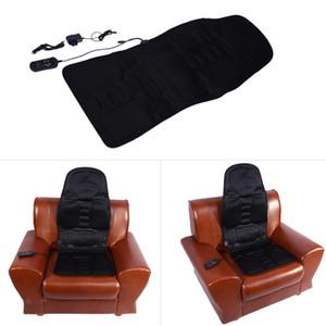 Masajeador eléctrico masaje silla asiento de coche eléctrico vibrador espalda cuello masaje cojín almohadilla de calor piernas la cintura