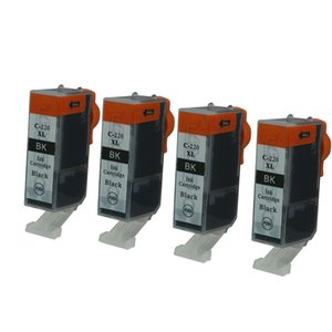4PK noir cartouches d'encre PGI 220 remplacement pour imprimantes Canon PIXMA MX860 MX870 MP550 MP560 MP640 imprimante jet d'encre