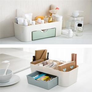 2017 vente chaude économie d'espace Desktop Comestics maquillage stockage tiroir type boîte Art pour la maison boîte Dropshipping