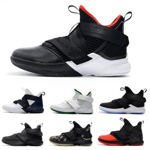 2019 plus récent soldat pourpre orange XII 12 EP pour les chaussures de basket-ball de sport athlétique baskets