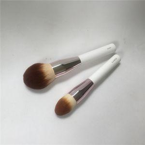 Lamer Powder brush & Foundation Brush - High Quality Soft Hair Face Bronzer Contour Brush - Beauty Makeup Brushes Blender