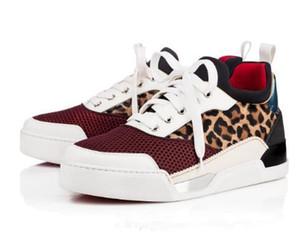 Новая версия качество Мужская обувь низкие кроссовки роскошные красные нижние кроссовки обувь Aurelien плоские мужская мода повседневная открытый партия свадьба Dres