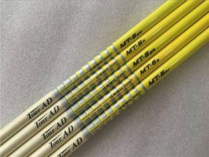 5PCS Tour AD MT-6 0.335 0.350 Tip Size Graphite Shaft SR S Flex Golf Graphite Shaft for Golf Woods