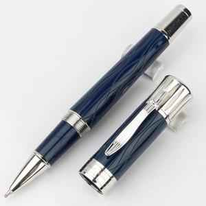 Stylo bille roulante / stylo à bille à pince de luxe de marque MT TWAIN de haute qualité