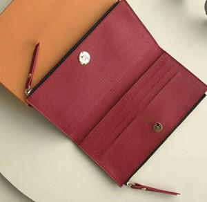 브랜드 새로운 패션 긴 hasp 스타일 여성 지갑 adele 지갑 흑연 부드러운 Bifold 신용 카드 소지자 지갑 A41 무료 배송
