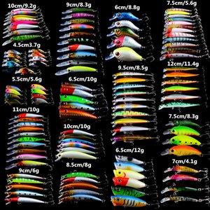 Neue 113 teile / los Lebensechte Fischköder Gemischt 16 Modelle Köder von 113 Farben Karpfen Angelgerät Künstliche Hohe Qualität köder