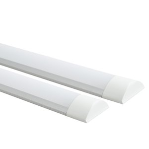 Led Tube led Tri-proof Light Purification Fixture Integrated Led Tube Flat Bracket 4ft 1200mm 36W High Bright AC85-265V