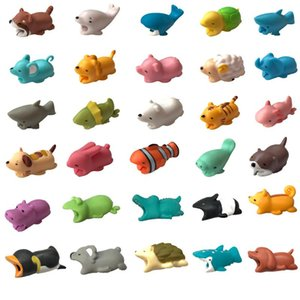 Hot Cable Bite Toy Cable Protector Animal Iphone Cable Bite Animal Doll 2*2*4cm Animal Iphone port Bite Data line protector toys