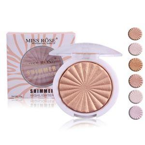 MISS ROSE Cuisson Shimmer Surligneur Maquillage Améliorer Joues Silhouette Visage Poudre Pressée Visage Maquillage