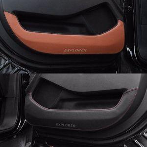 Porta protezione laterale protezione dei bordi copertura Leaver anti-calcio per NUOVO Ford Explorer 2016-2018