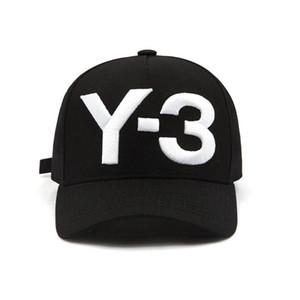 Mode Y-3 Pur Coton À Pointe Hip Hop Baseball Casquettes Brodé Lettre Réglable hommes femmes Casual Snapbacks Sport visière gorras chapeaux