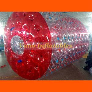 Inflatable Water Roller 3x2.6x2m Commercial PVC Water Cylinder Hamster Roller Wheel Zorb Ball with Pump Free Shipping