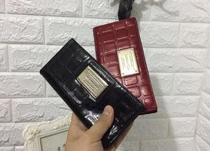 2018 foreign trade wallet Lady Ladies double zipper Purse Handbag Wallet wallet Long Purse